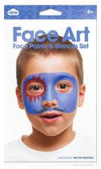 Face Art Boy - Face Paint Set