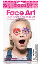Face Art Girl - Face Paint Set
