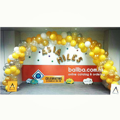 Balloon Arch @ Airport Asia Miles Office