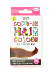 Comb In Temporary Hair Color - PINK