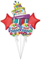 Balloon Fun Bouquet (A SET OF 5)