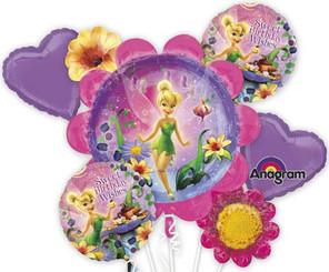 Tinker Bell Birthday Bouquet (Set of 5)