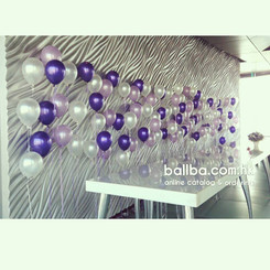 Balloon Wall for Lunch Wedding Party @ The Peninsula