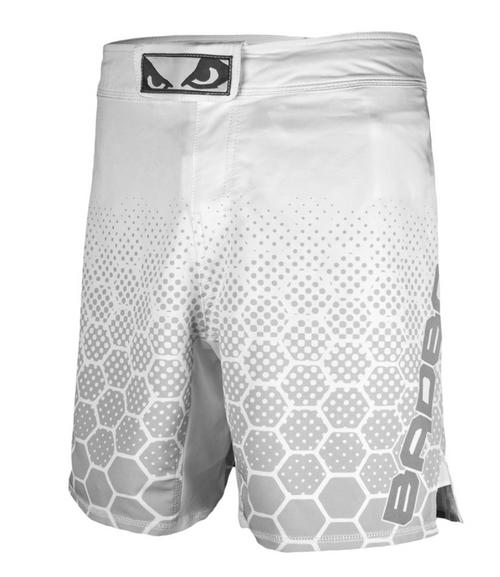 Bad Boy Legacy 3.0 Shorts - White/Grey