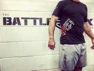 "BattleBox and RokFit ""Shut Up & Lift"" Motivation T-Shirt"
