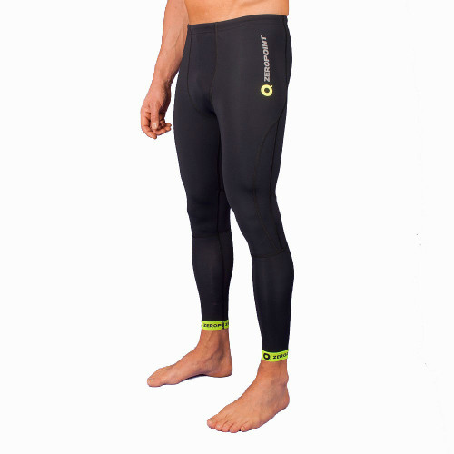 ZERO POINT POWER COMPRESSION TIGHTS – BLACK YELLOW