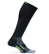 Features Graduated Compression Cushion Knee High Socks Black