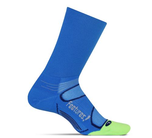 Features Elite Light Cushion Mini Crew Socks Brilliant Blue crossfit running