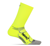 Features Elite Light Cushion Mini Crew Socks Reflector