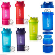 BlenderBottle® ProStak® Twist n' Lock™ Smart Mixer Protein Cup Shaker 650ml - www.BattleBoxUk.com