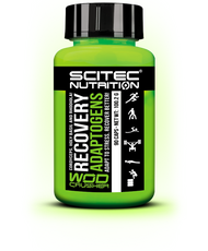 SCITEC NUTRITION WOD CRASHER RECOVERY ADAPTOGENS Adapt to stress, recover better!