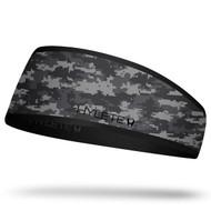 Hylete inline reversible headband www.battleboxuk.com  black camo/black