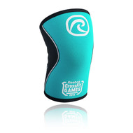 REHBAND RX KNEE SUPPORT 5MM, LIMITED EDITION TURQUOISE LOGO 2015 REEBOK CROSSFIT GAMES www.battleboxuk.com