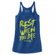 "StrongerRx Women ""The Rest Tank""(ROYAL)"