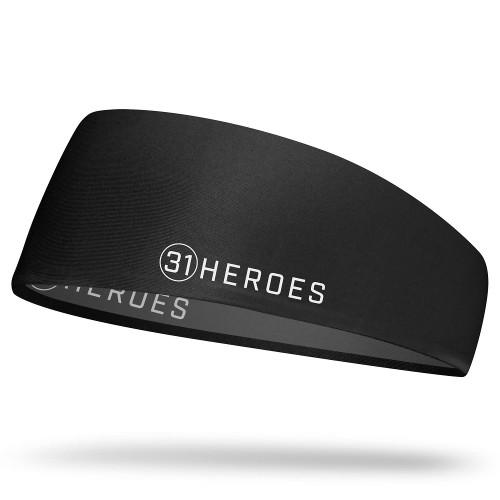 HYLETE 31Heroes reversible headband black/gun metal www.battleboxuk.com