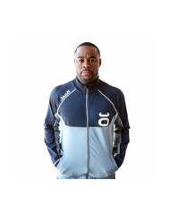 Rashad Evans Warm-Up Jacket (Silverlake/Navy)
