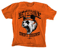 Dethrone The Panda Tee Crayola Orange