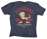 Dethrone Heavy Brawler Tee Blue