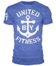 ROKFIT UNITED BY FITNESS HEATHER ROYAL BLUE www.BattleBoxUK.com