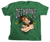 Dethrone Wicked Tee Green