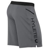 HYLETE Vertex Zip Pocket Short (gun metal/black) www.battleboxuk.com