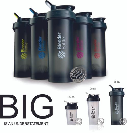 BlenderBottle® Pro45 1300ml / 45oz Mixer Water Protein Shaker Cup - www.BattleBoxUk.com