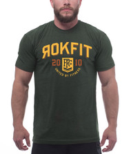 RokFit The Collegiate T-Shirt www.battleboxuk.com