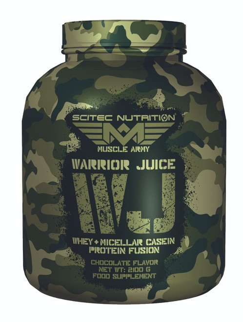 CrossTrainingUK - Scitec Nutrition WARRIOR JUICE Whey + micellar casein protein 2.1KG
