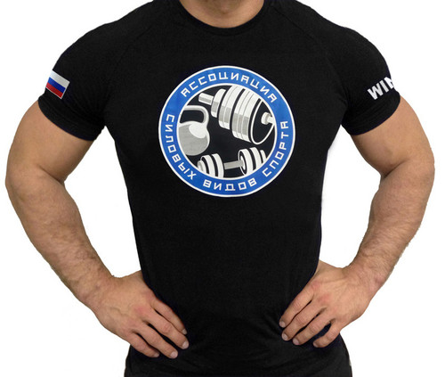 Klokov Winner Association Strength Sports Tee www.battleboxuk.com