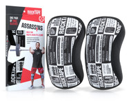 www.BattleBoxUk.com - RockTAPE Assassins® Manifesto Knee Sleeves - Knee Support & Protection Caps 5mm or 7mm