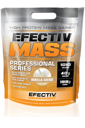 EFECTIVE Mass High Protein Gainer www.battleboxuk.com