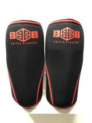 BattleBox Smart Gear™ Knee Caps Red Edition 7mm www.battleboxuk.com