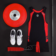 VIRUS MEN'S BIOCERAMIC ELEVATE II WEIGHTLIFTING SINGLET (AU12) www.battleboxuk.com