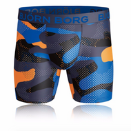 Bjorn Borg Performance Pro Boxer Short Blue/Orange/Camo www.battleboxuk.com