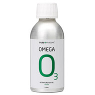 PurePharma Omega 3 Liquid 150ml Ultra Pure Fish Oil: Free Of Any Fishy Taste or Odor - www.battleboxuk.com