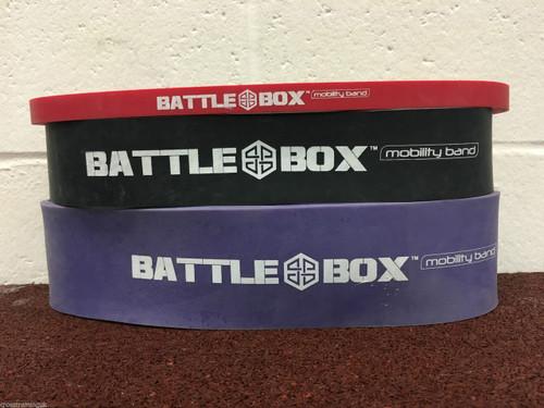 "BattleBox UK™ Mobility Shorty Dead Lift Band 12"" Different Resistance - www.BattleBoxUk.com"