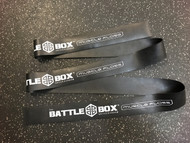 "BattleBox UK™ 2"" Muscle Floss Mobility Band Black 7ft -  www.battleboxuk.com"