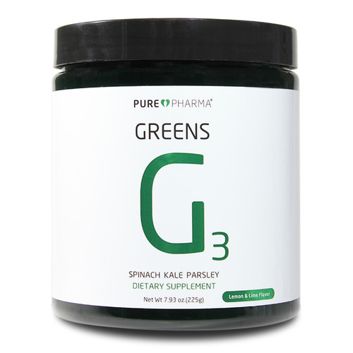 PurePharma G3 Greens Lemon Lime (Spinach,Kale,Parsley) www.battleboxuk.com