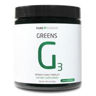 PurePharma G3 Greens Lemon Lime (Spinach,Kale,Parsley) www.battleboxuk.com