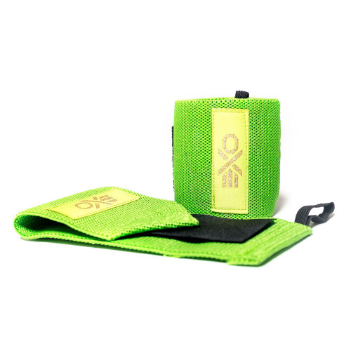 EXO Wrist Wraps COTTON WRIST WRAP - GRASS GREEN www.battleboxuk.com