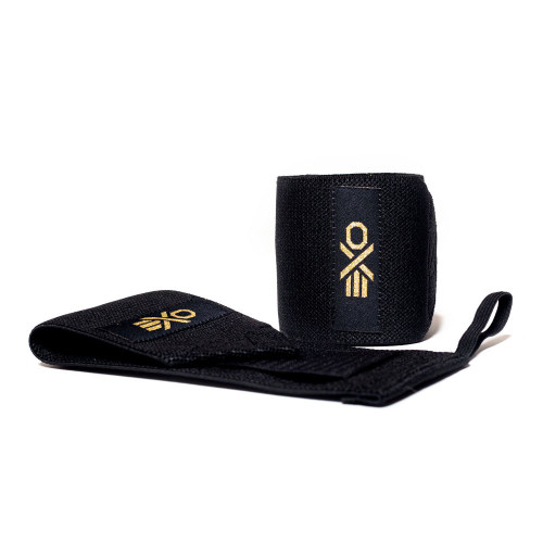EXO Wrist Wraps COTTON WRIST WRAP - BLACK www.battleboxuk.com