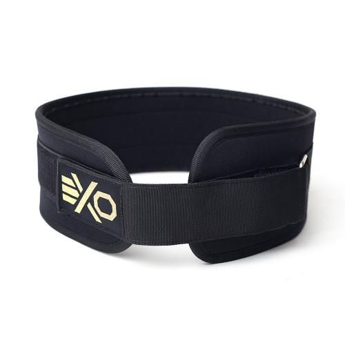 EXO's Nylon Weightlifting Belt Black & Gold WWW.BATTLEBOXUK.COM