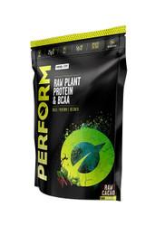Vivo Life PERFORM Plant Based Protein Powder SALTED MACA CARAMEL with BCAA Vegan All Natural Paleo - www.BattleBoxUk.com