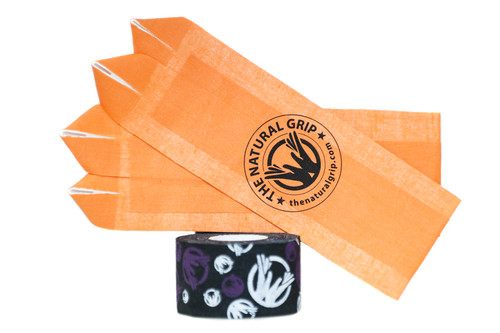 The Natural Grip Combo Grip With Goat Tape Roll Orange - www.BattleBoxUk.com