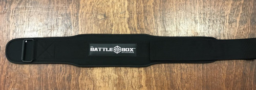 "BattleBox UK™ Light WOD Weightlifting Belt 4"" www.BattleBoxUk.com"