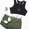 VIRUS WOMEN'S STAY COOL DATA TRAINING SHORT (ECO22)- OLIVE GREEN www.battleboxuk.com