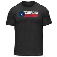Hylete Texas II tri-blend crew tee | vintage black/texas www.battleboxuk.com