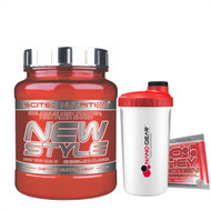 CrossTrainingUK - Scitec Nutrition NEW STYLE Delicious High Protein High Fiber Shake 450g