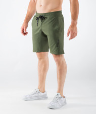 VIRUS MEN'S BIOCERAMIC ICONX SHORT (AU20) OLIVE GREEN WWW.BATTLEBOXUK.COM