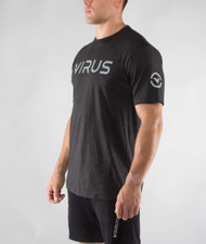VIRUS PREMIUM HEATHER TEE (RT07) WWW.BATTLEBOXUK.COM
